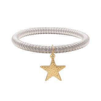 Ileana bracciale in acciaio con IP oro B15626 4 You Jewels
