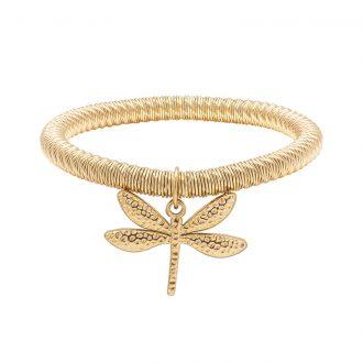 Ileana bracciale in acciaio con IP oro B15631 4 You Jewels
