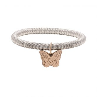 Ileana bracciale in acciaio con IP rosa B15625 4 You Jewels