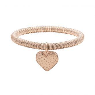 Ileana bracciale in acciaio con IP rosa B15628 4 You Jewels