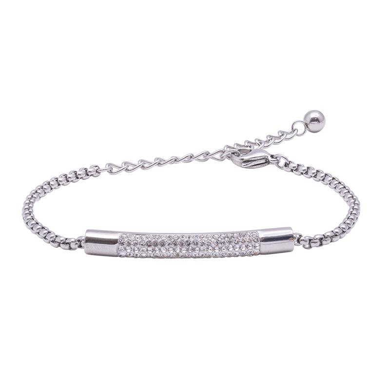 Katrin bracciale in acciaio con cristalli B15200 4 You Jewels