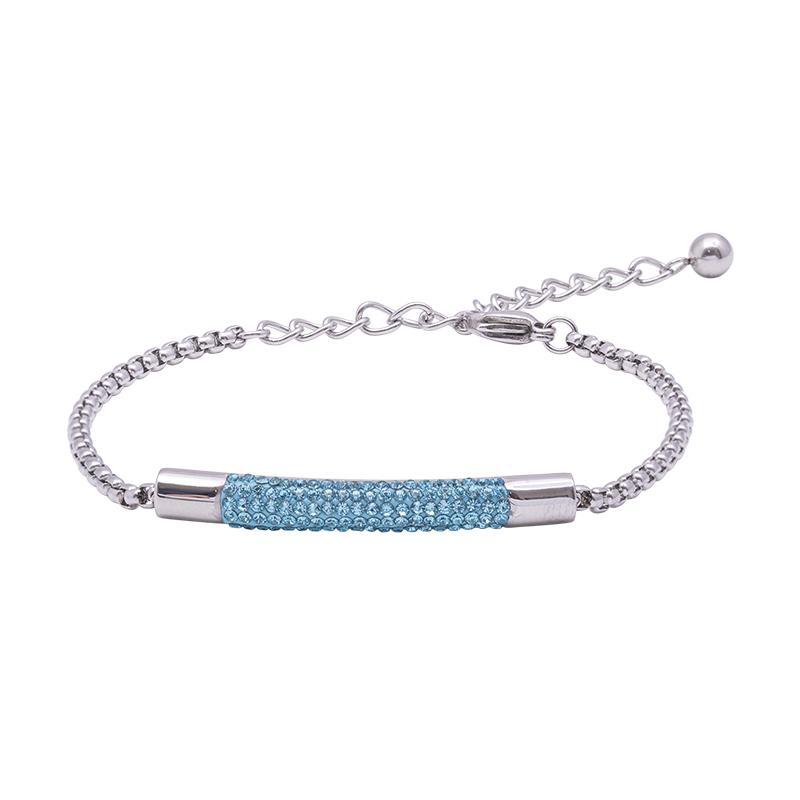 Katrin bracciale in acciaio con cristalli B15201 4 You Jewels