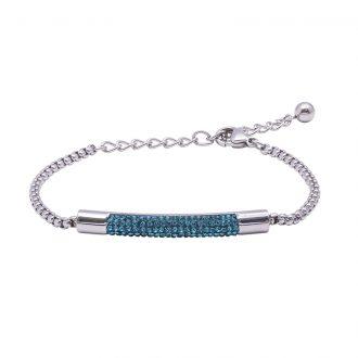 Katrin bracciale in acciaio con cristalli B15202 4 You Jewels