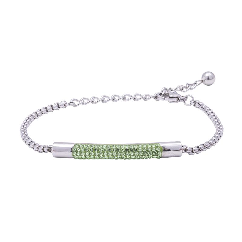 Katrin bracciale in acciaio con cristalli B15203 4 You Jewels