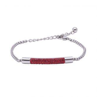 Katrin bracciale in acciaio con cristalli B15206 4 You Jewels