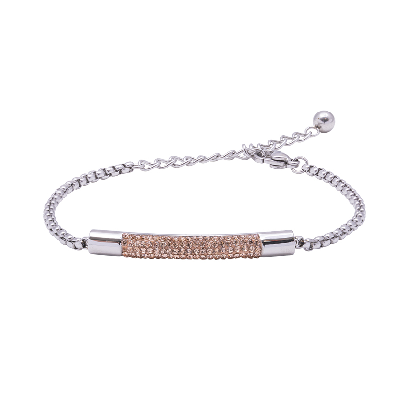 Katrin bracciale in acciaio con cristalli B15208 4 You Jewels