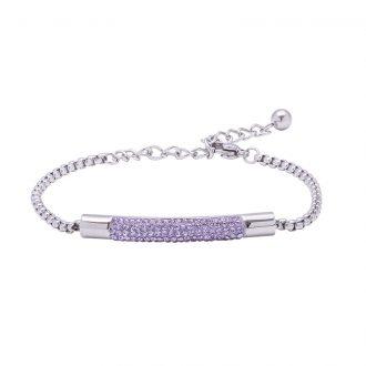 Katrin bracciale in acciaio con cristalli B15209 4 You Jewels