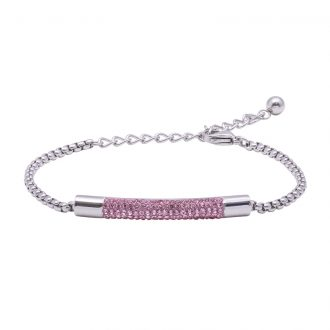 Katrin bracciale in acciaio con cristalli B15210 4 You Jewels