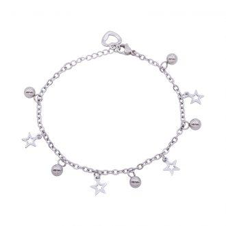 Ketty bracciale in acciaio B00367 4 You Jewels