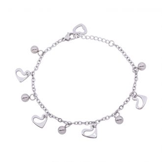 Ketty bracciale in acciaio B00370 4 You Jewels