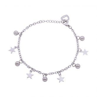 Ketty bracciale in acciaio B00371 4 You Jewels