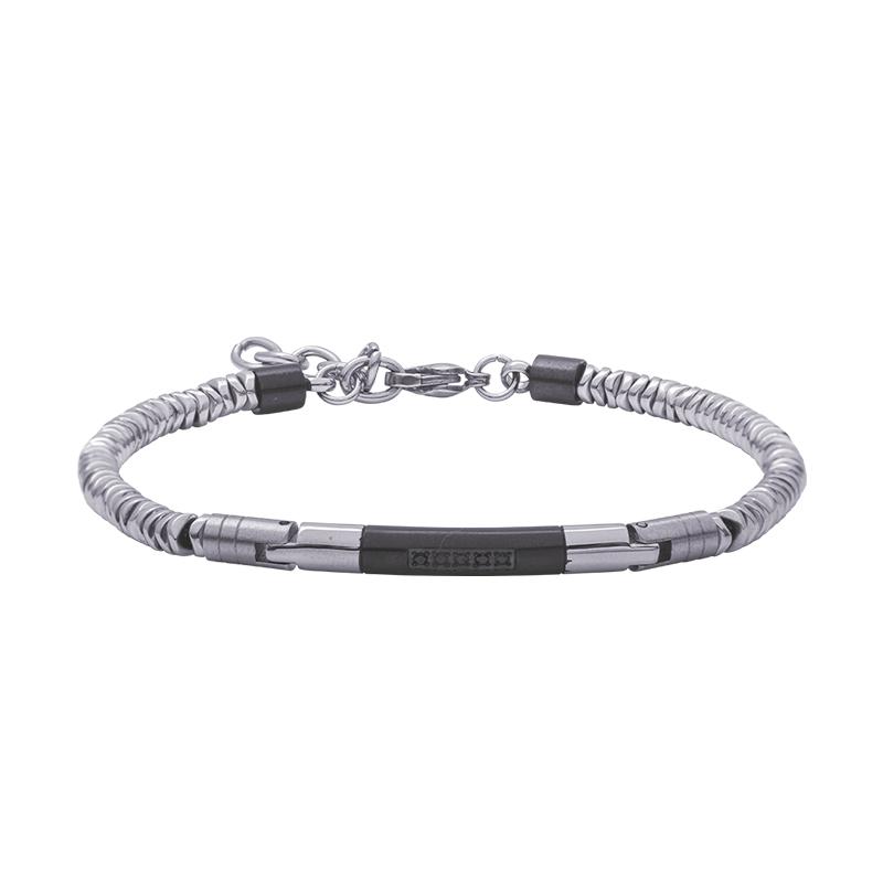 Man Energy bracciale in acciaio B15174 4 You Jewels