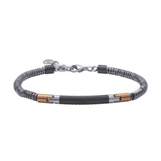 Man Energy bracciale in acciaio B15175 4 You Jewels