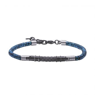Man Energy bracciale in acciaio B15176 4 You Jewels