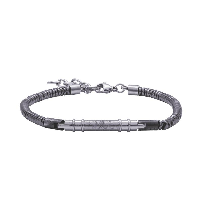 Man Energy bracciale in acciaio B15177 4 You Jewels