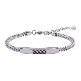 Man Energy bracciale in acciaio B15350 4 You Jewels