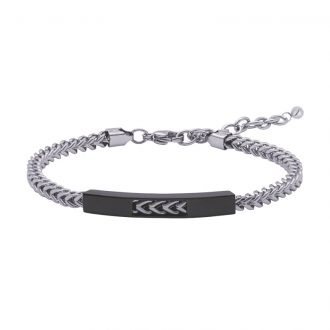 Man Energy bracciale in acciaio B15351 4 You Jewels