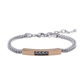 Man Energy bracciale in acciaio B15352 4 You Jewels
