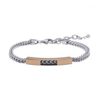 Man Energy bracciale in acciaio B15352 4 You Jewels