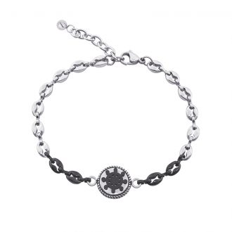 Man Energy bracciale in acciaio B15353 4 You Jewels