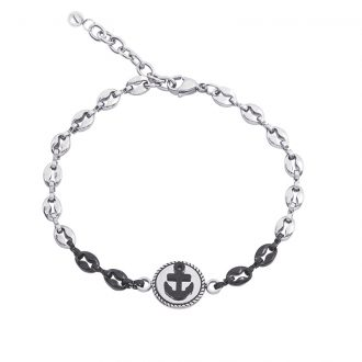 Man Energy bracciale in acciaio B15354 4 You Jewels