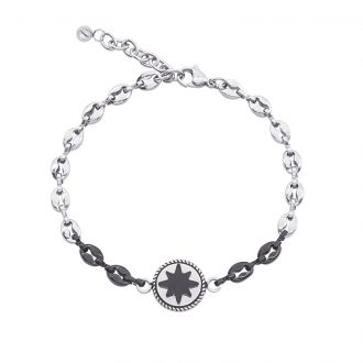 Man Energy bracciale in acciaio B15355 4 You Jewels