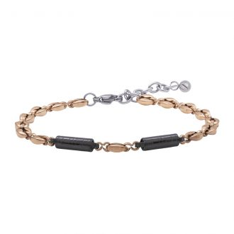 Man Energy bracciale in acciaio B15356 4 You Jewels