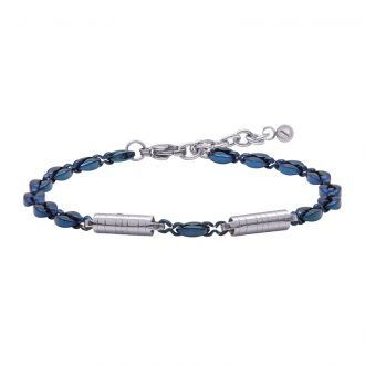 Man Energy bracciale in acciaio B15357 4 You Jewels