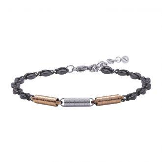 Man Energy bracciale in acciaio B15358 4 You Jewels