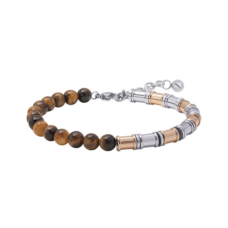 Man Energy bracciale in acciaio B15360 4 You Jewels