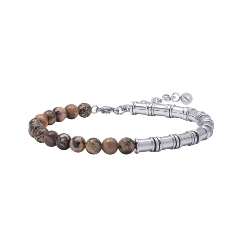 Man Energy bracciale in acciaio B15363 4 You Jewels