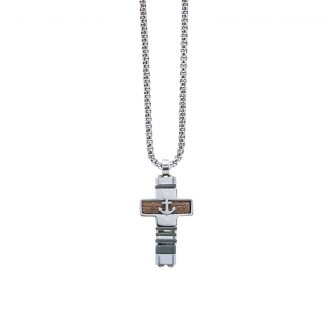 Man Energy collana in acciaio P15171 4 You Jewels