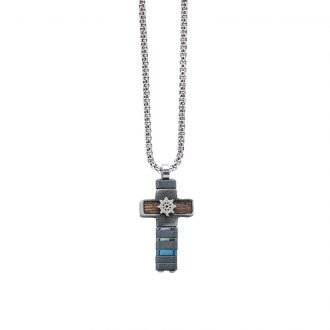 Man Energy collana in acciaio P15172 4 You Jewels