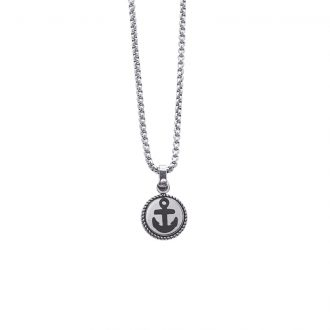 Man Energy collana in acciaio P15354 4 You Jewels