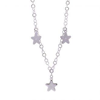 Micaela collana in acciaio e cristalli N15647 4 You Jewels