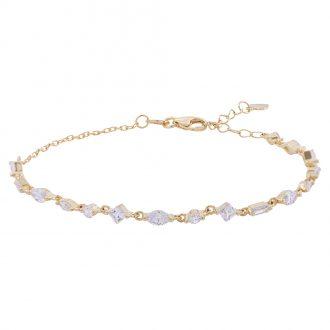 Savannah bracciale in argento 925‰ dorato e zirconi B14253GP 4 You Jewels
