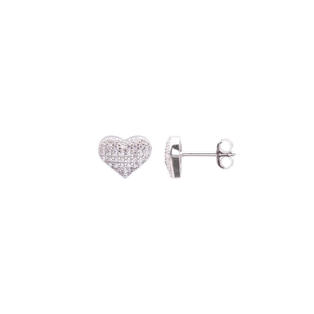 Cleo orecchini in argento 925‰ e zirconi E08599 For You Jewels