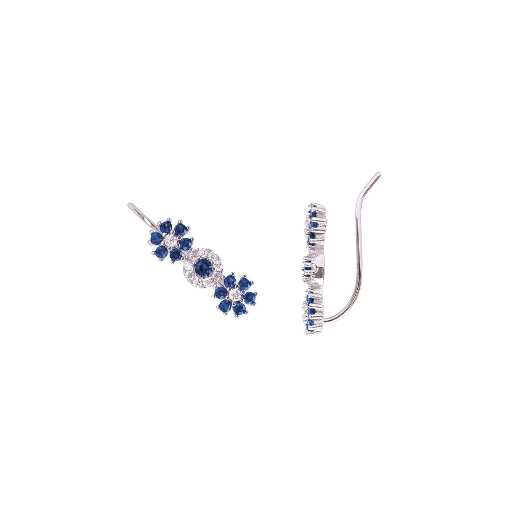 Flowers Fantasy orecchini in ottone rodiato e zirconi E15954 For You Jewels