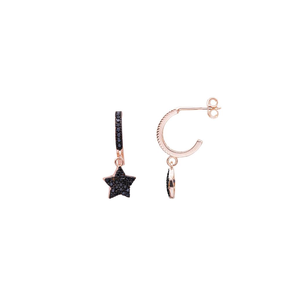 Glenna orecchini in argento 925‰ rosato e zirconi E08901PK For You Jewels