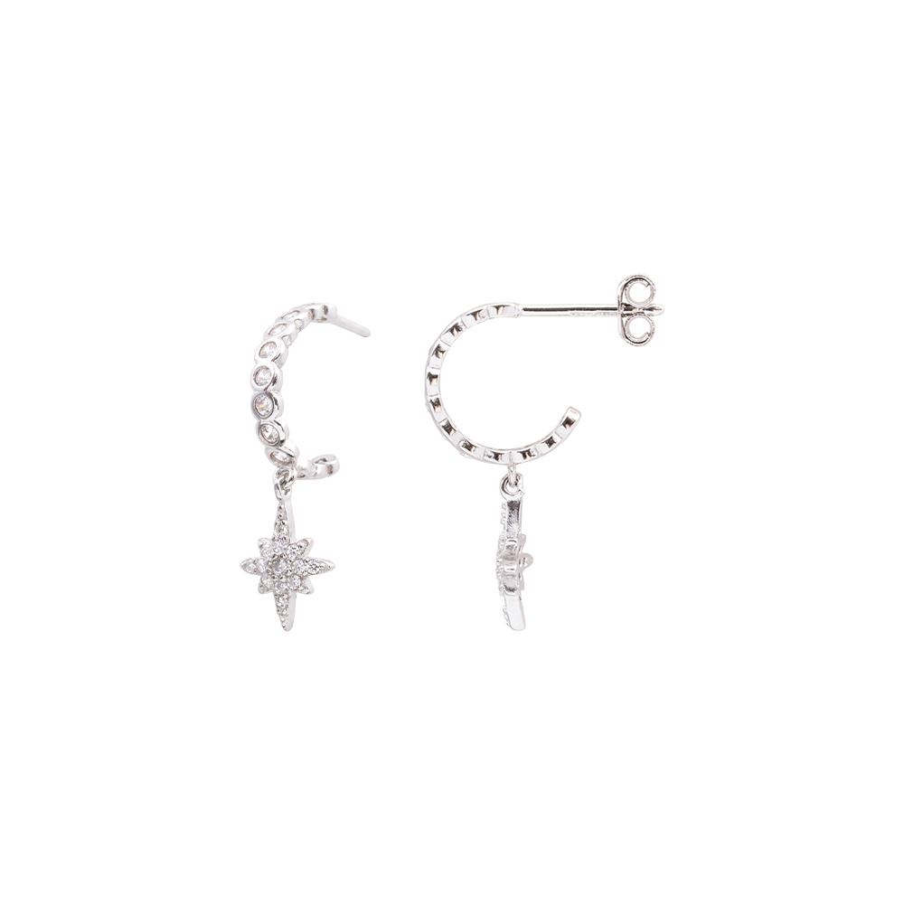 Hollie orecchini in argento 925‰ e zirconi E15618 For You Jewels