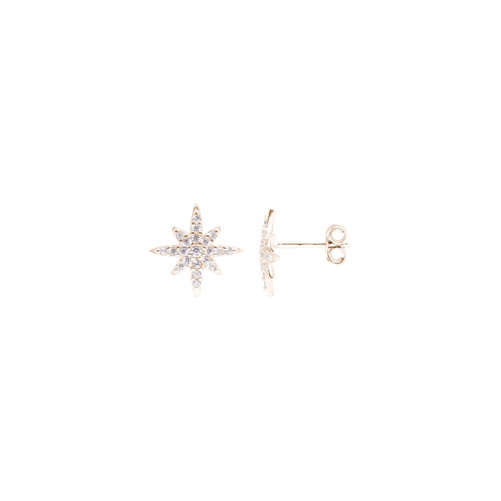 Hollie orecchini in argento 925‰ rosato e zirconi E15590PP For You Jewels