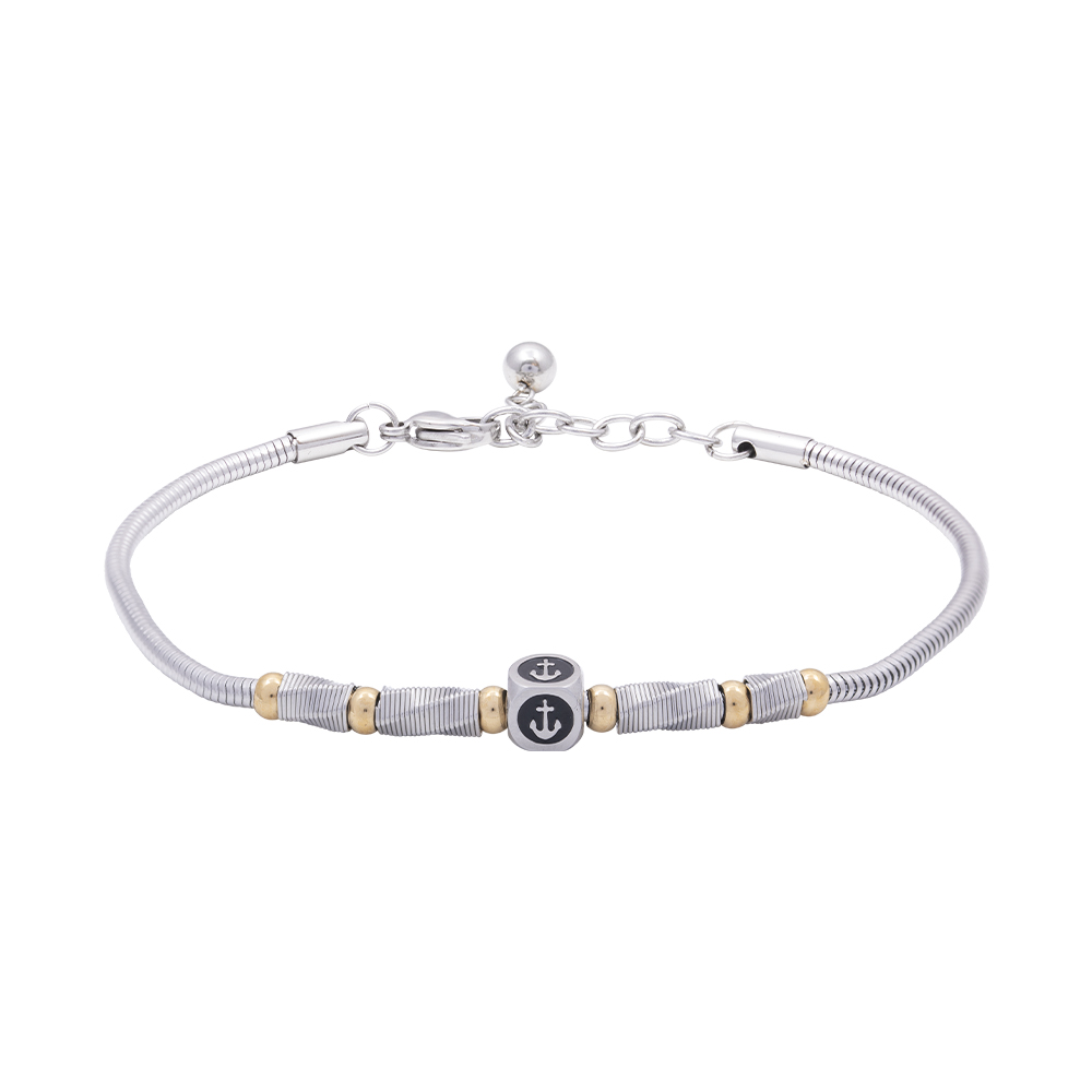 Man Reflect bracciale in acciaio B16184 For You Jewels