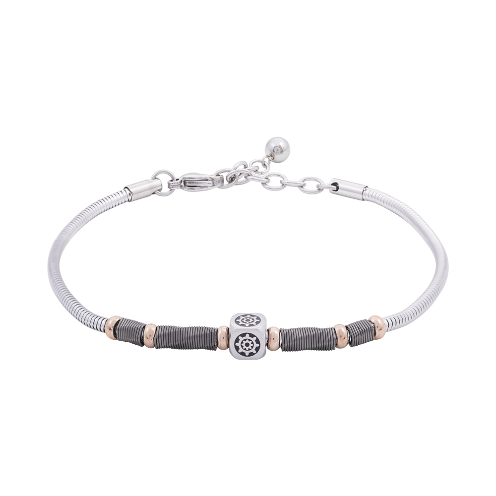 Man Reflect bracciale in acciaio B16185 For You Jewels