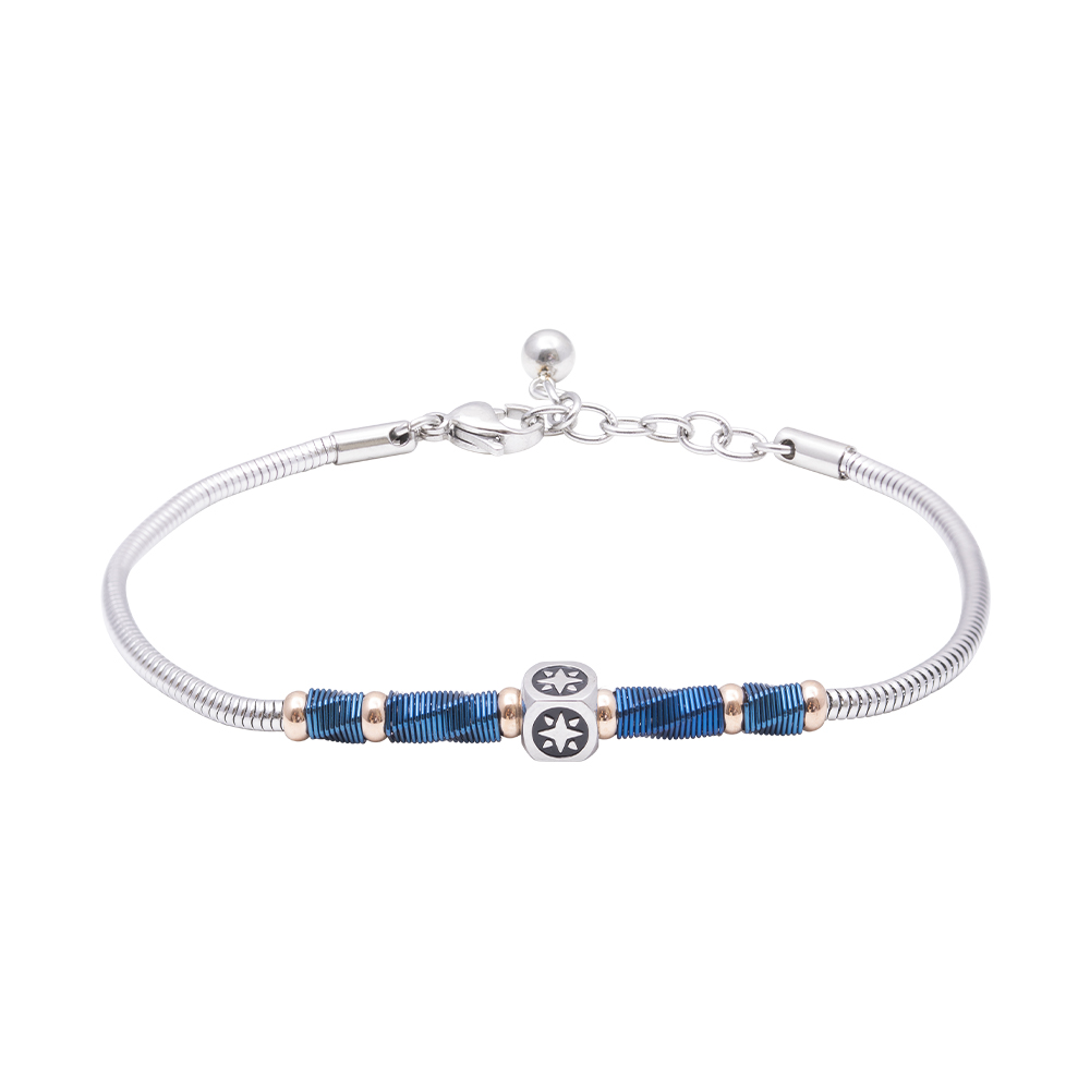 Man Reflect bracciale in acciaio B16186 For You Jewels