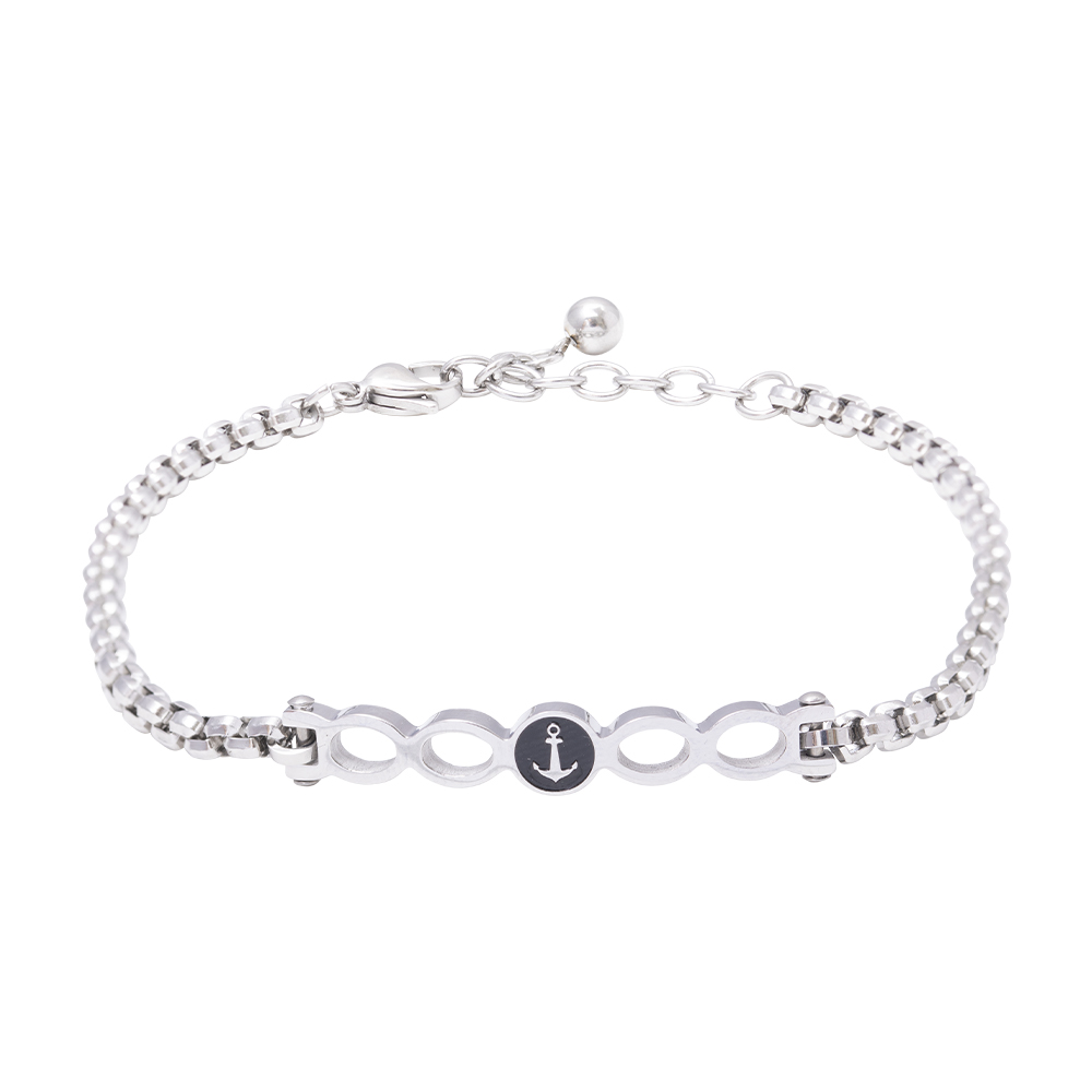 Man Reflect bracciale in acciaio B16193 For You Jewels