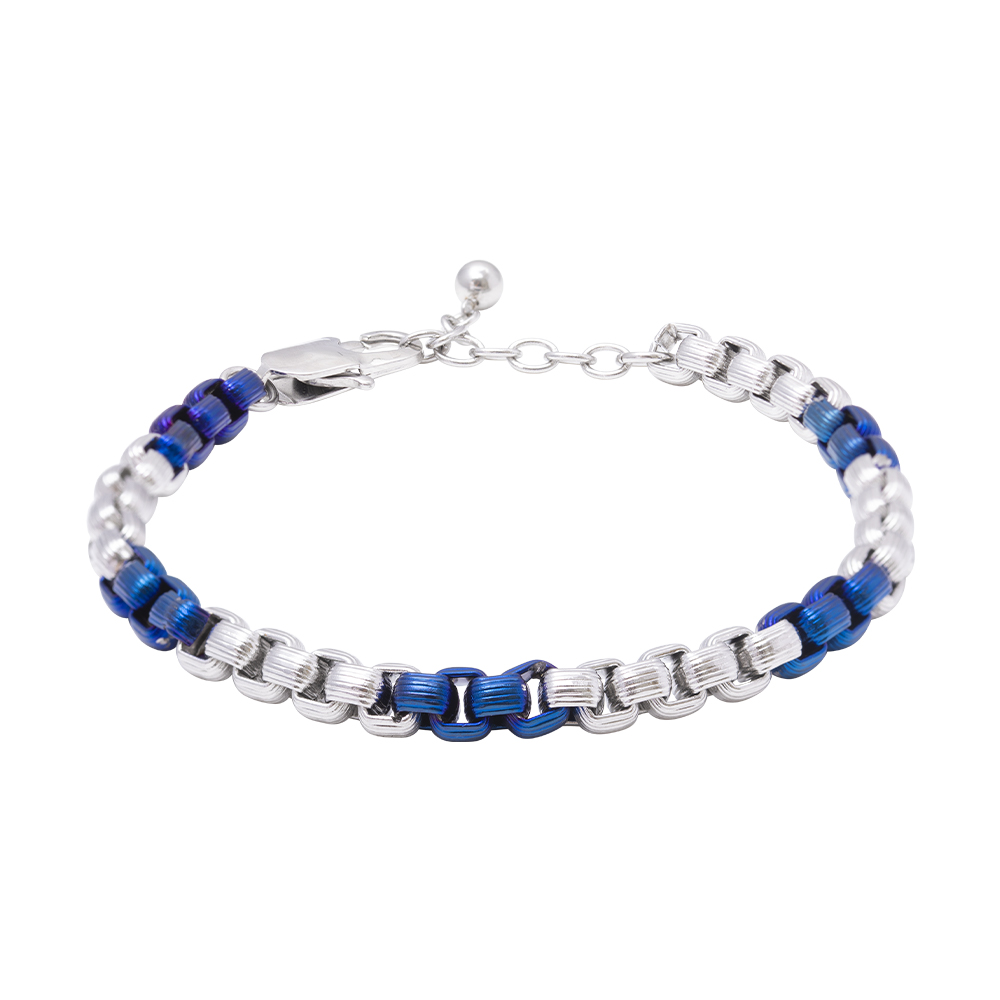 Man Reflect bracciale in acciaio B16197 For You Jewels