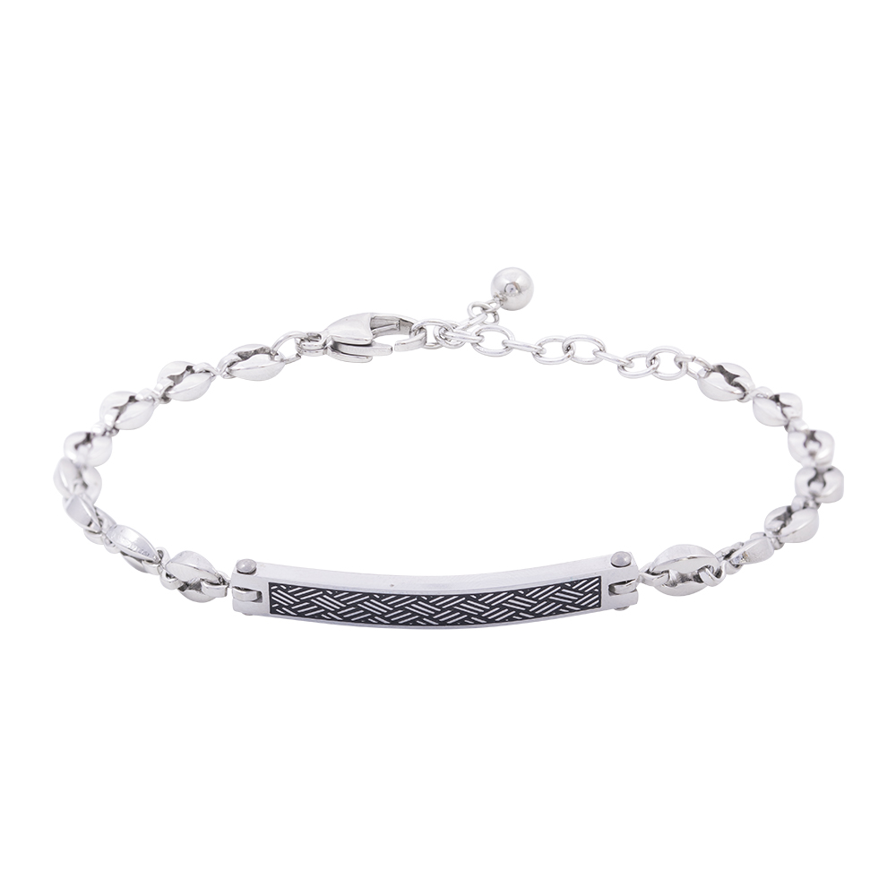 Man Reflect bracciale in acciaio B16211 For You Jewels
