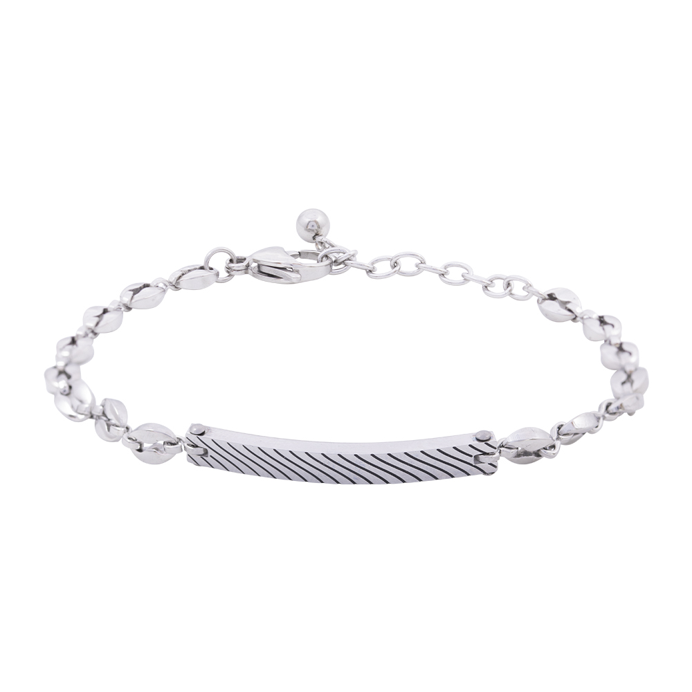 Man Reflect bracciale in acciaio B16212 For You Jewels