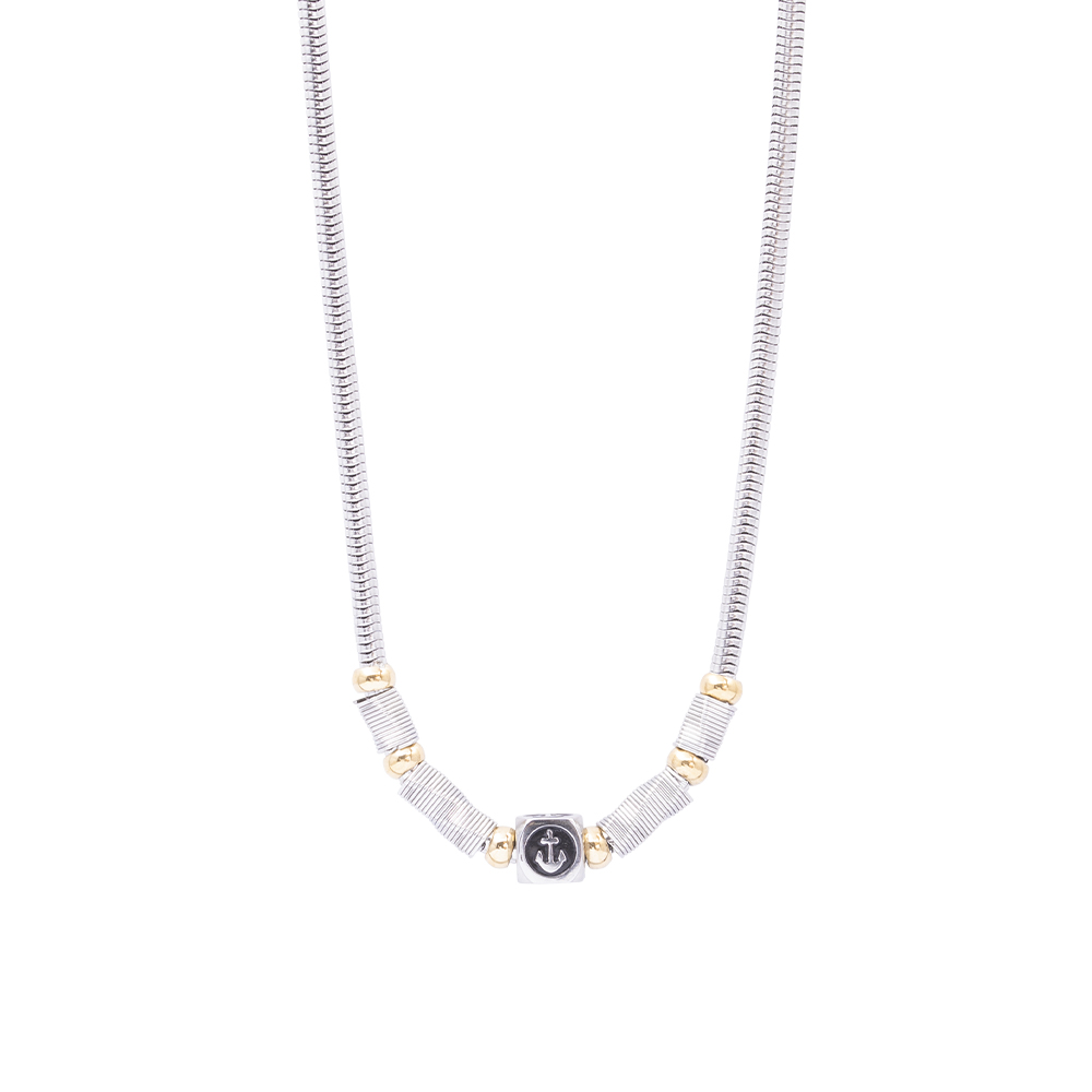 Man Reflect collana in acciaio N16184 For You Jewels