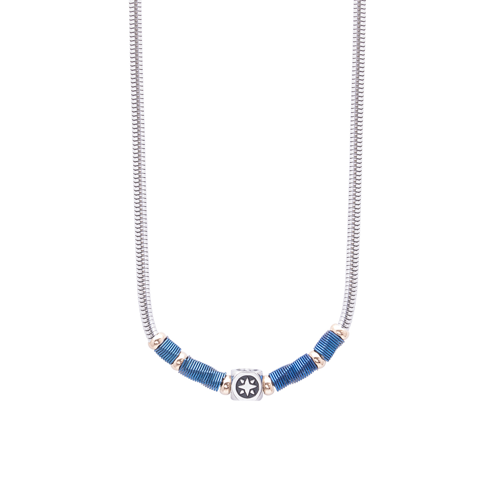 Man Reflect collana in acciaio N16186 For You Jewels
